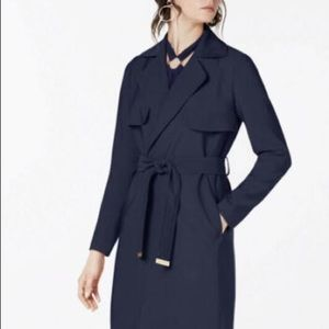 NEW Michael Kors Belted Trench Coat Size S